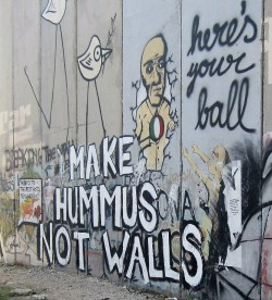 make hummus not walls
